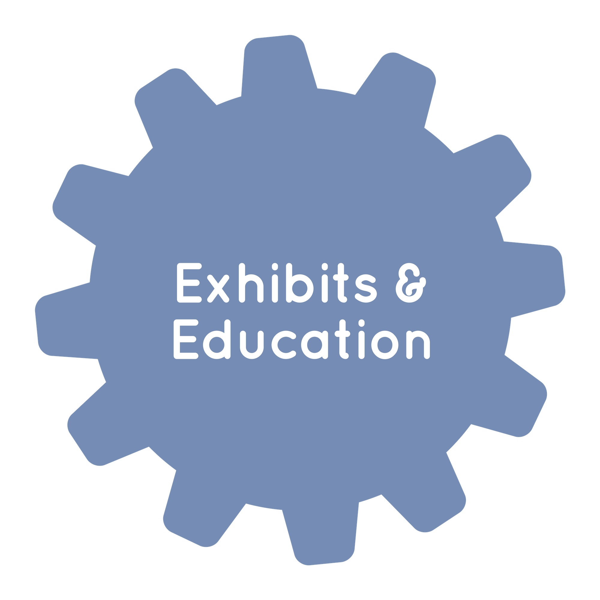 Exhibits/Education office of Children's Museum of Atlanta