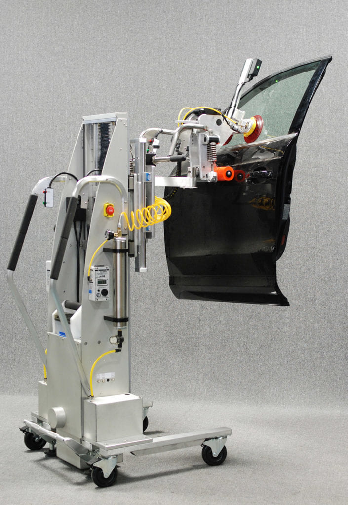Material Handling Solutions For Automotive | Automotive Lifts | Alum-a-Lift