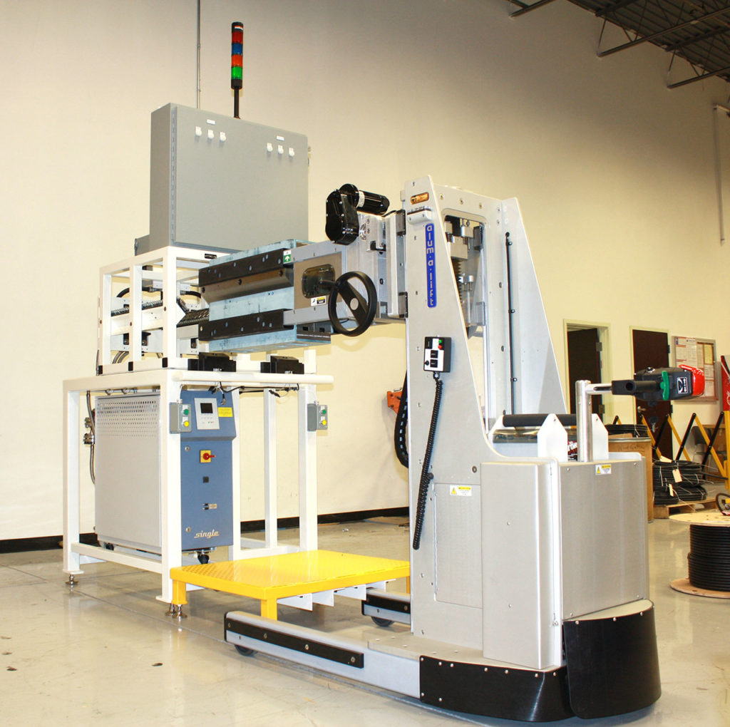 Defense Material Handling Solutions | Alum-a-Lift
