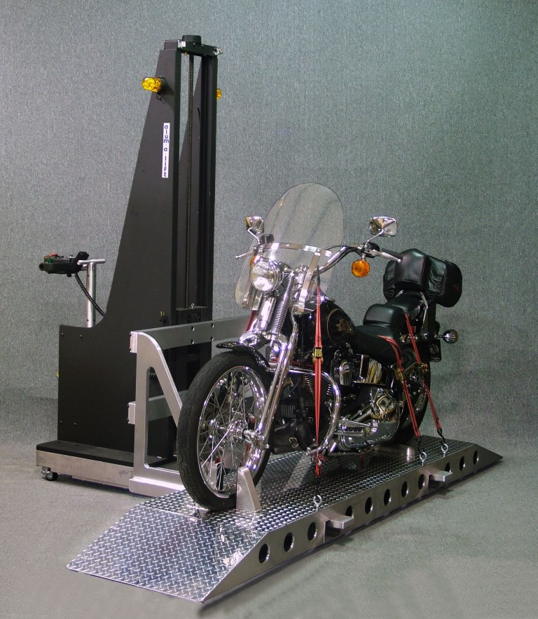Motorcycle Lift for Casino