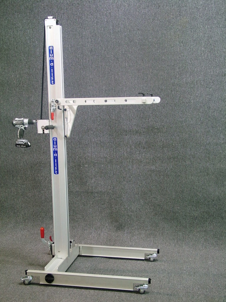 Field Service Trav-a-Lift with Fork Set and Hand Drill