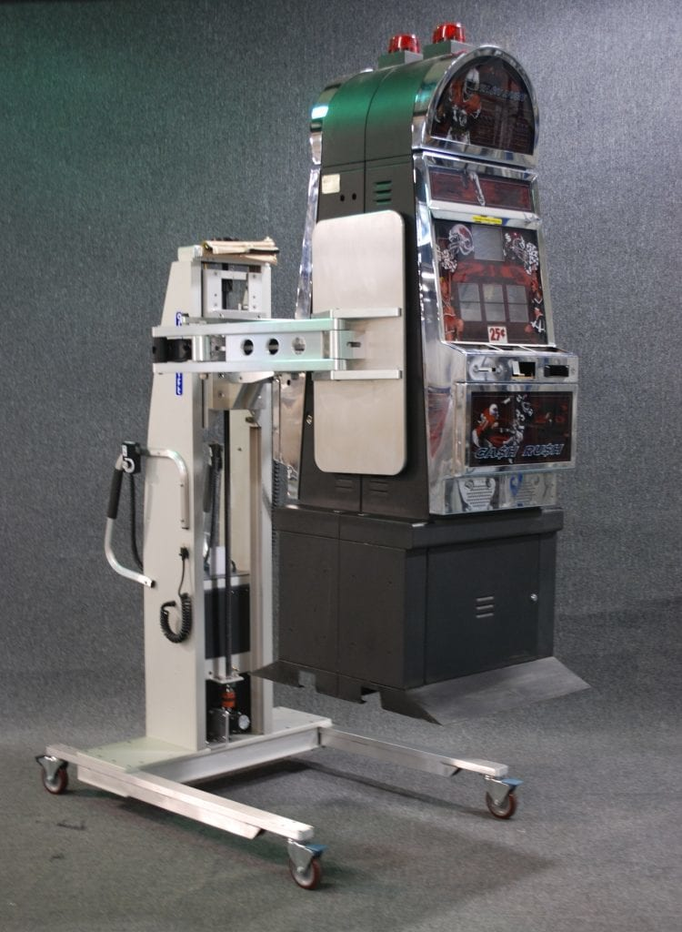 Clamping Lift with Slot Machine
