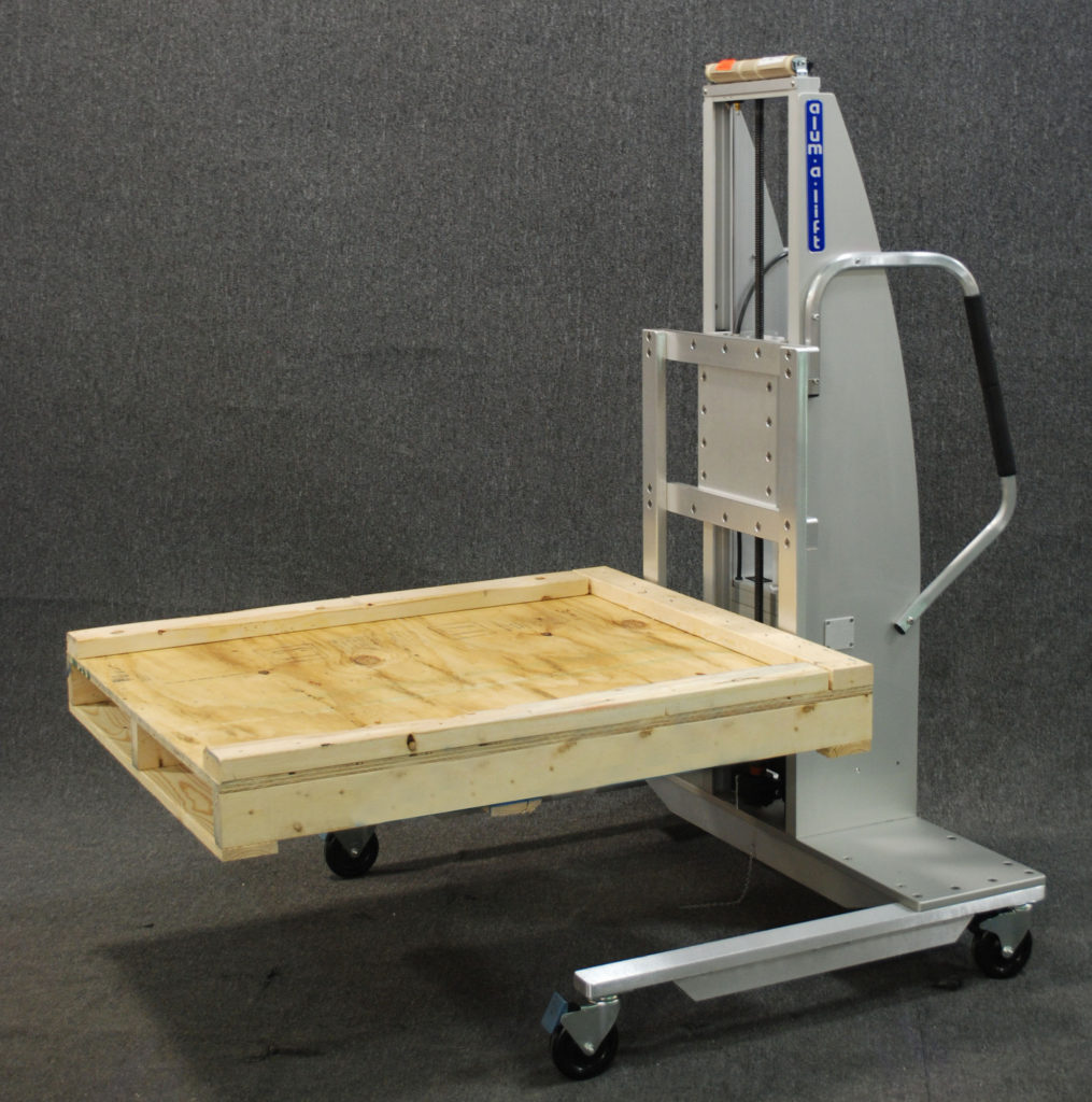 Forkset Lift with Pallet