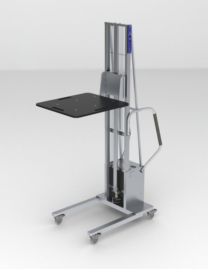 Lift with Low Friction ESD Plastic Platform