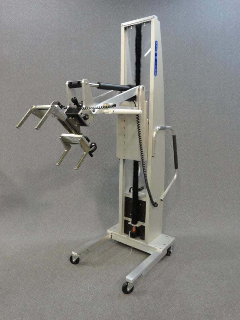 Rotator Lift with Manual Gripper for Installing Electrical Panels