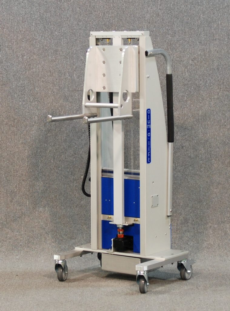 Dual Prong Set Lift for Handling Reels and Spools