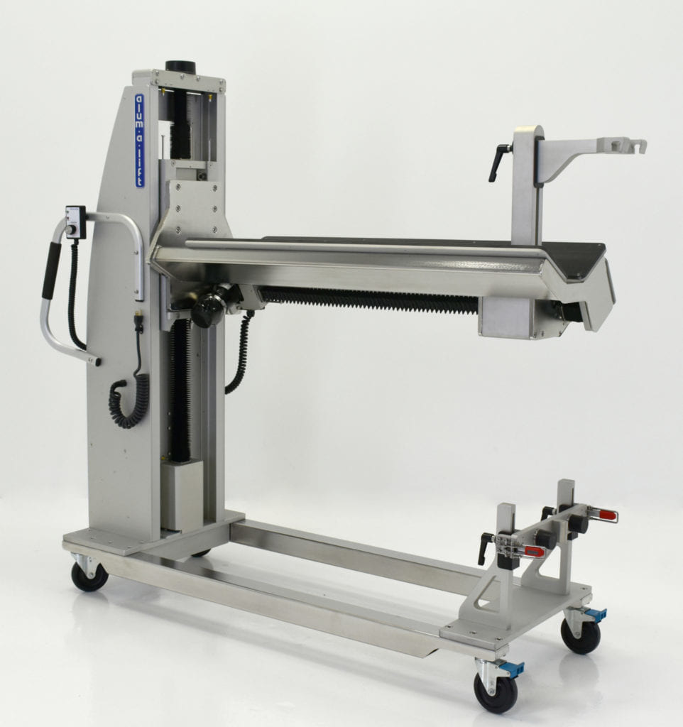 Die Lift and Extractor for Cookie Filling Machine