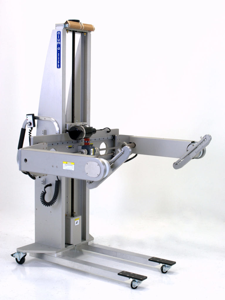 In-Circuit Test Fixture Lift with Rotation for Service
