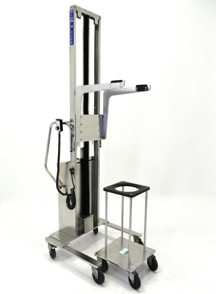 Pharmaceutical Stainless Steel Filter Housing Lift and Cart