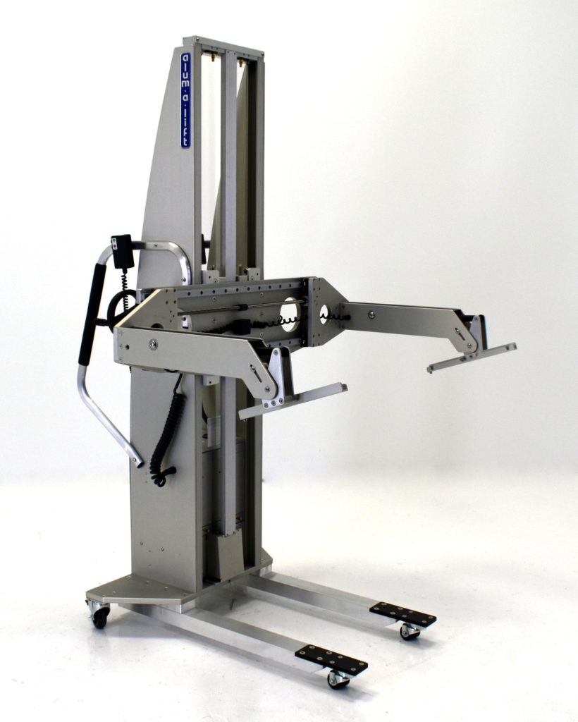 Portable Ergonomic In-Circuit Test Fixture Lifting Device with Tilt Control
