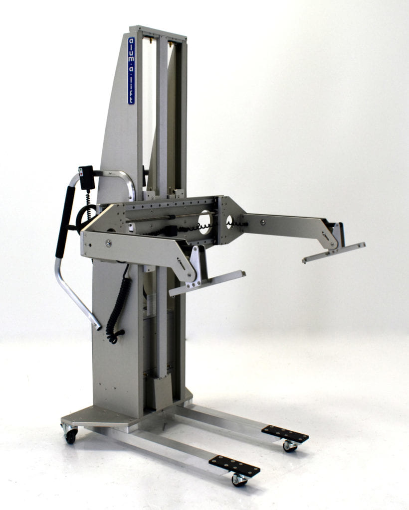 In-Circuit Test Fixture Lifting Device with Tilt Control