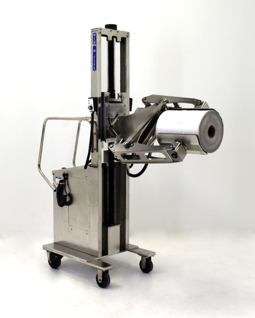 Stainless Steel Washdown Roll Clamping Lift