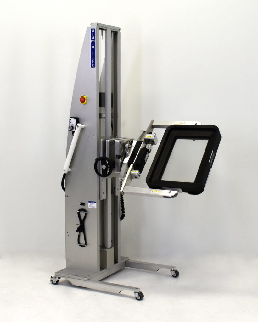 Cassette Gripper Lift for Additive Manufacturing
