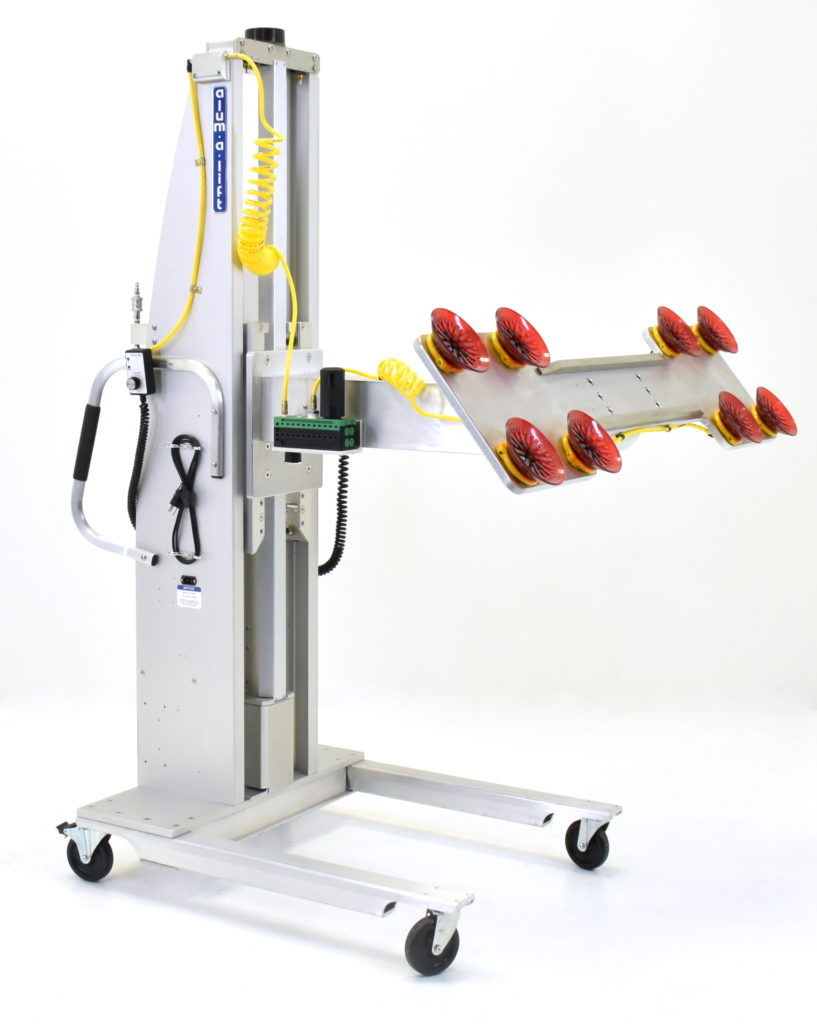 Custom Ergonomic Vacuum Lifter with Rotation for Panels and Sheets