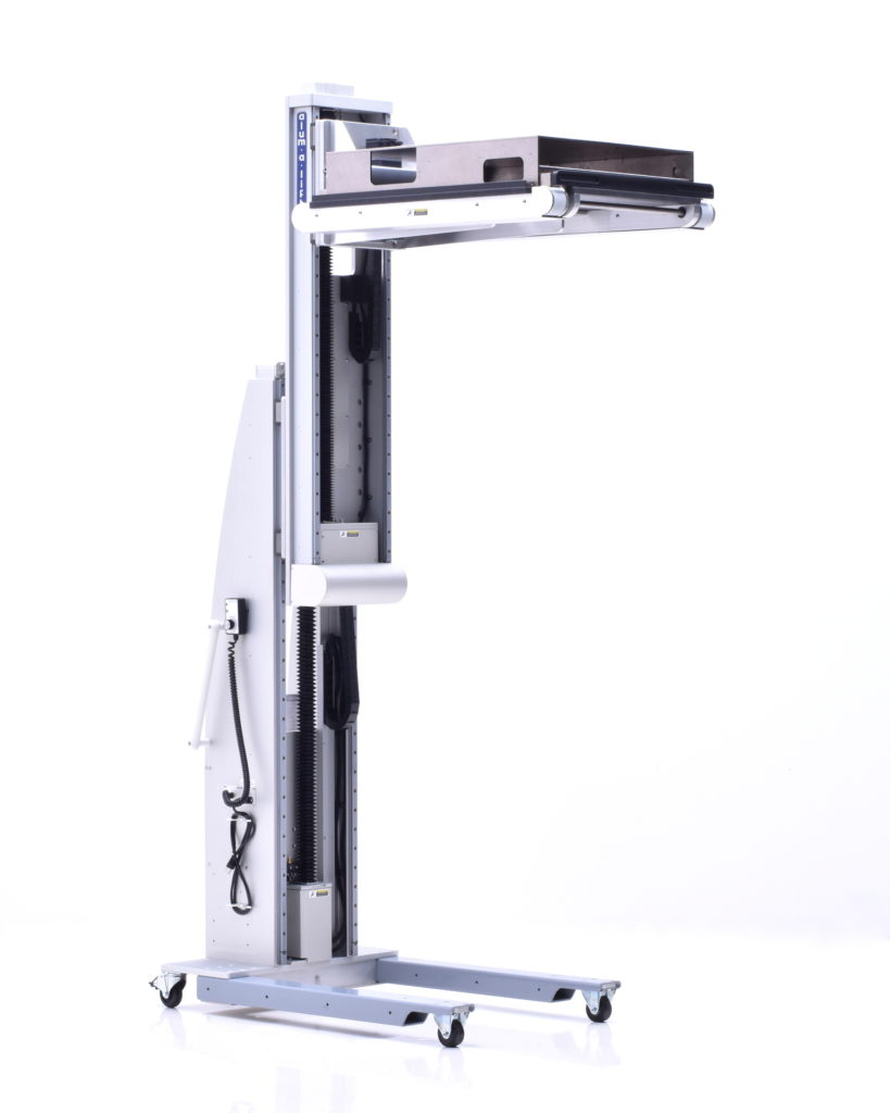 Telescoping Powered Conveyor Portable Ergonomic Lift