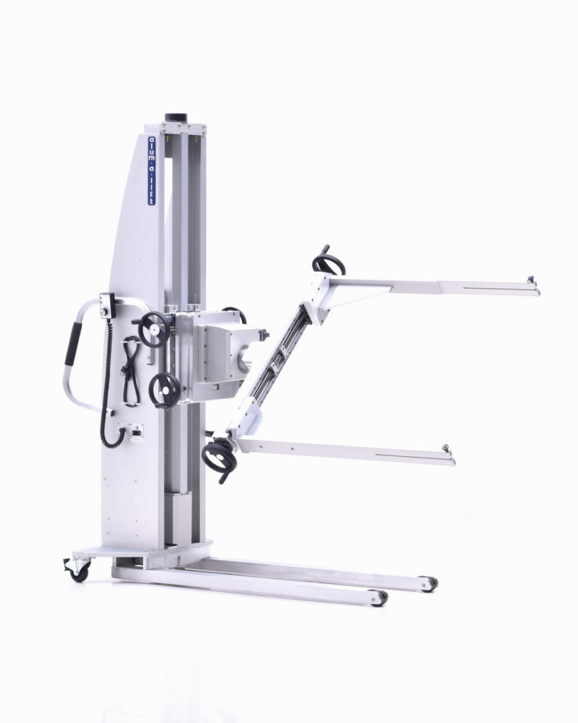 Inline ICT Lift with Powered Rotation
